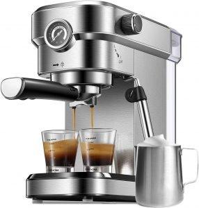 small manual espresso machine